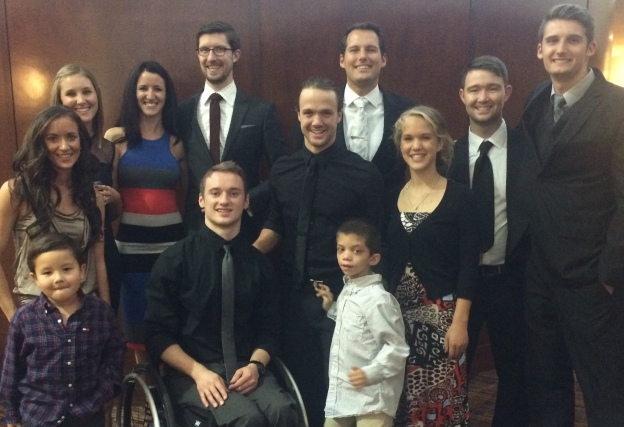 The cousin crew at the wedding Saturday night. Not all of them could make it, but most of them.